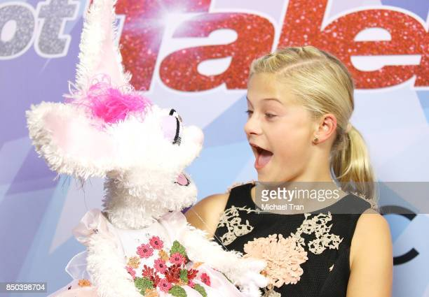 Season 12 winner Darci Lynne Farmer attends NBC's America's Got Talent Season 12 Finale held at Dolby Theatre on September 20 2017 in Hollywood...