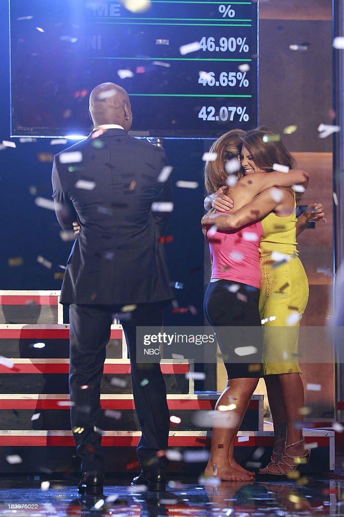 LOSER -- Season 14 Live Finale -- Pictured: (l-r) Dannielle 'Danni' Allen, Jillian Michaels --
