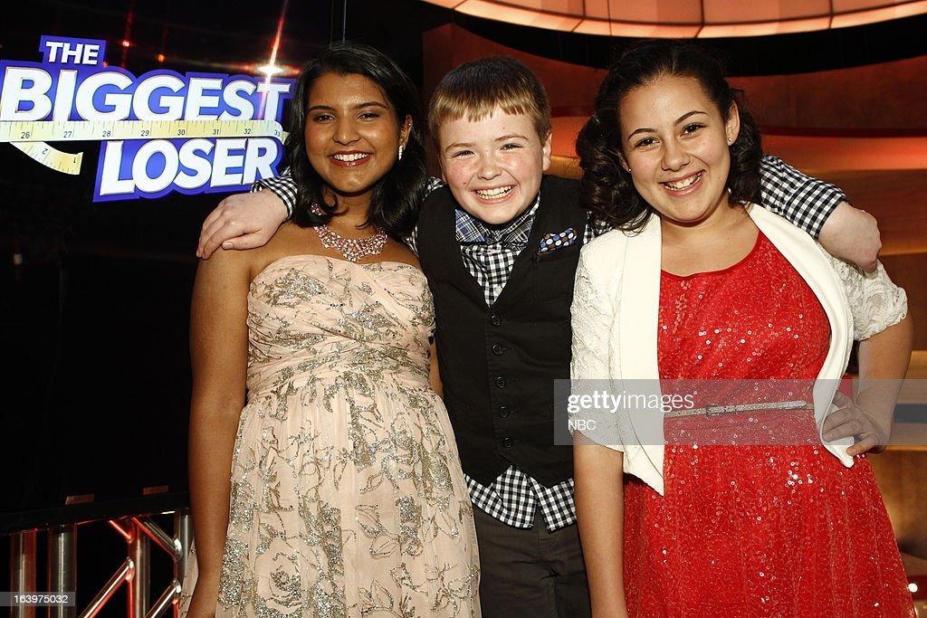 LOSER -- Season 14 Live Finale -- Pictured: (l-r) Sanjana 'Sunny' Chandrasekar, Noah 'Biingo' Gray, Lindsay Bravo --