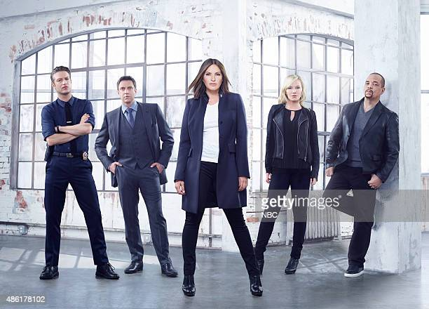 17 Pictured Peter Scanavino as Detective Dominick 'Sonny' Carisi Raúl Esparza as ADA Rafael Barba Mariska Hargitay as Sgt Olivia Benson Kelli Giddish...