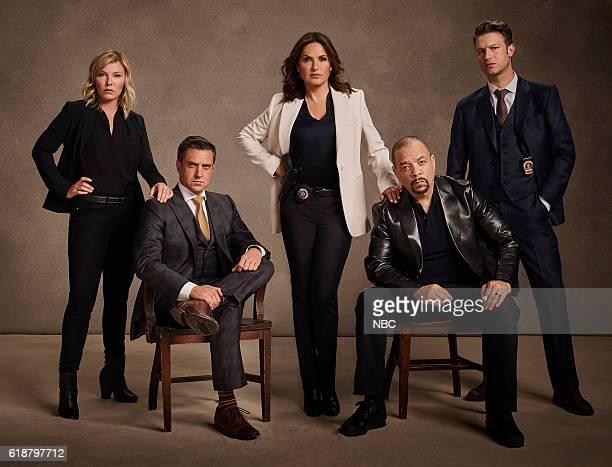 18 Pictured Kelli Giddish as Detective Amanda Rollins Raul Esparza as ADA Rafael Barba Mariska Hargitay as Lieutenant Olivia Benson IceT as Detective...
