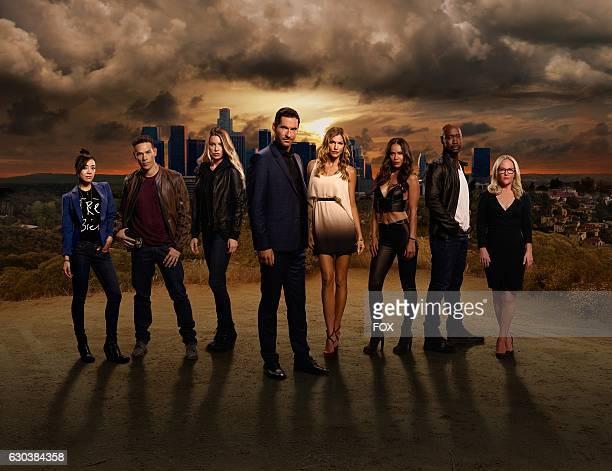 Season 2 of LUCIFER premieres Monday September 19th on FOX Pictured LR Aimee Garcia Kevin Alejandro Lauren German Tom Ellis Tricia Helfer LesleyAnn...