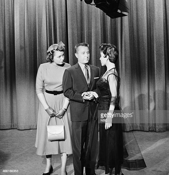 Actress/regular Jeff Donnell as Alice host George Gobel actress Sue England