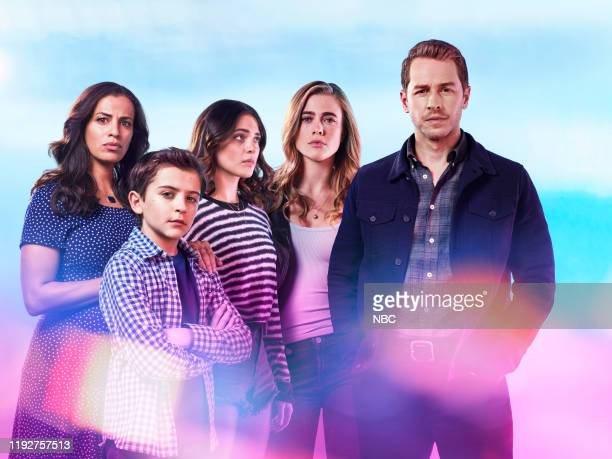 2 Pictured Athena Karkanis as Grace Stone Jack Messina as Cal Stone Luna Blaise as Olive Stone Melissa Roxburgh as Michaela Stone Josh Dallas as Ben...