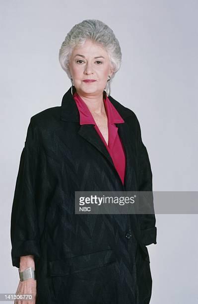 Bea Arthur as Dorothy Petrillo Zbornak Photo by Gary Null/NBCU Photo Bank