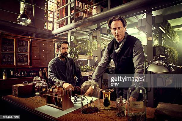 2 Pictured Billy Campbell as Dr Alan Farragut Steven Weber as Brother Michael