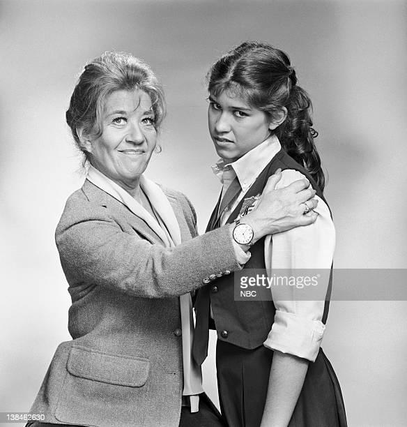 Charlotte Rae as Mrs Edna Ann Garrett Nancy McKeon as Joanna 'Jo' Marie Polniaczek Bonner