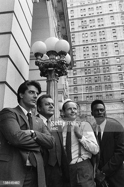 Chris Noth as Detective Mike Logan Paul Sorvino as Det Sgt Philip 'Phil' Cerreta Michael Moriarty as Executive ADA Ben Stone Richard Brooks as ADA...