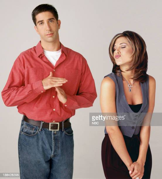 David Schwimmer as Ross Geller Jennifer Aniston as Rachel Green