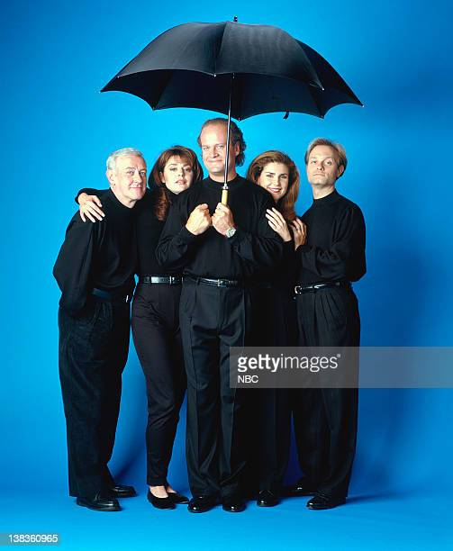 John Mahoney as Martin Crane Jane Leeves as Daphne Moon Kelsey Grammer as Dr Frasier Crane Peri Gilpin as Roz Doyle David Hyde Pierce as Dr Niles...