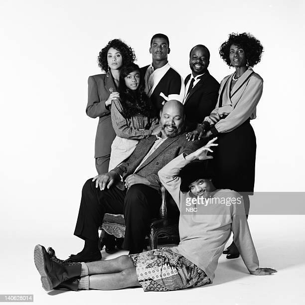 Karyn Parsons as Hilary Banks Tatyana Ali as Ashley Banks Alfonso Ribeiro as Carlton Banks Joseph Marcell as Geoffrey Janet Hubert as Vivian Banks...