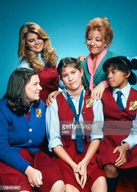 Lisa Whelchel as Blair Warner Charlotte Rae as Mrs Edna Ann Garrett Kim Fields as Dorothy 'Tootie' Ramsey Nancy McKeon as Joanna 'Jo' Marie...