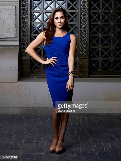 2 Pictured Meghan Markle as Rachel Zane