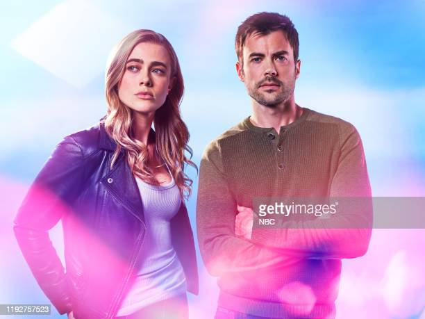 2 Pictured Melissa Roxburgh as Michaela Stone Matt Long as Zeke Landon