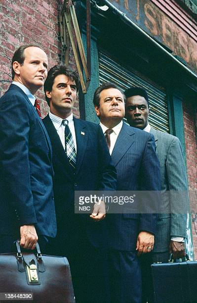 Michael Moriarty as Executive ADA Ben Stone Chris Noth as Detective Mike Logan Paul Sorvino as Det Sgt Philip 'Phil' Cerreta and Richard Brooks as...