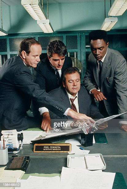 Michael Moriarty as Executive ADA Ben Stone Chris Noth as Detective Mike Logan Paul Sorvino as Det Sgt Philip 'Phil' Cerreta Richard Brooks as ADA...