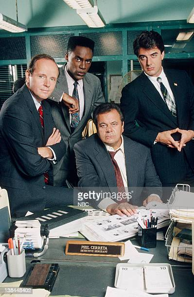 Michael Moriarty as Executive ADA Ben Stone Richard Brooks as ADA Paul Robinette Paul Sorvino as Det Sgt Philip 'Phil' Cerreta and Chris Noth as...