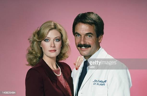 Season 2 -- Pictured: Nancy Stafford as Joan Halloran, Mark Harmon as Doctor Robert Caldwell -- Photo by: Frank Carroll/NBCU Photo Bank