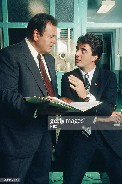 Paul Sorvino as Det Sgt Philip 'Phil' Cerreta and Chris Noth as Detective Mike Logan