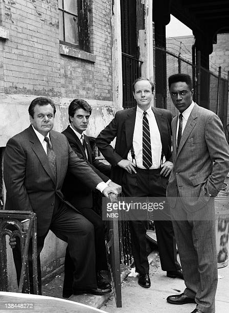 Paul Sorvino as Det Sgt Philip 'Phil' Cerreta Chris Noth as Detective Mike Logan Michael Moriarty as Executive ADA Ben Stone Richard Brooks as ADA...