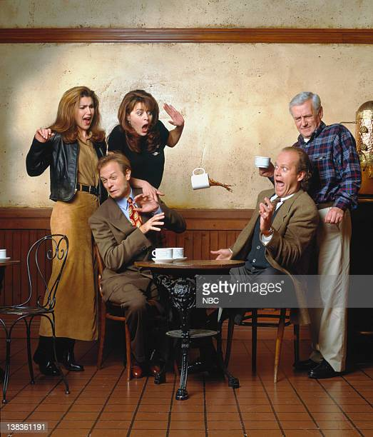 Peri Gilpin as Roz Doyle David Hyde Pierce as Dr Niles Crane Jane Leeves as Daphne Moon Kelsey Grammer as Dr Frasier Crane John Mahoney as Martin...
