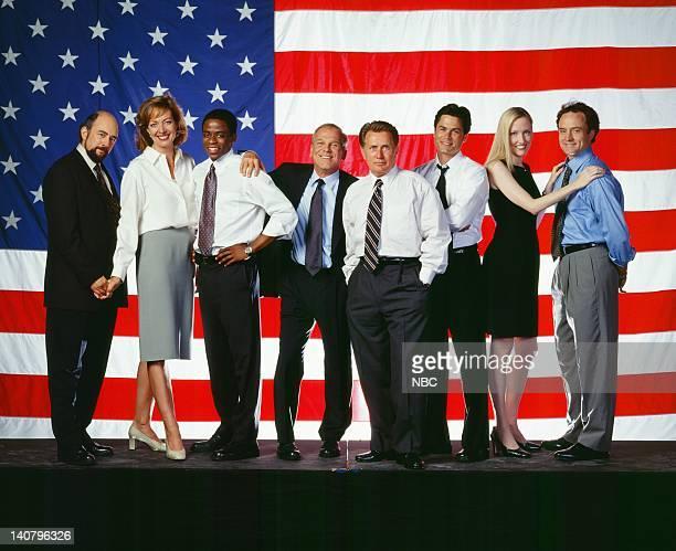 Richard Schiff as Toby Ziegler Allison Janney as Claudida Jean 'CJ' Cregg Dule Hill as Charlie Young John Spencer as Leo McGarry Martin Sheen as...