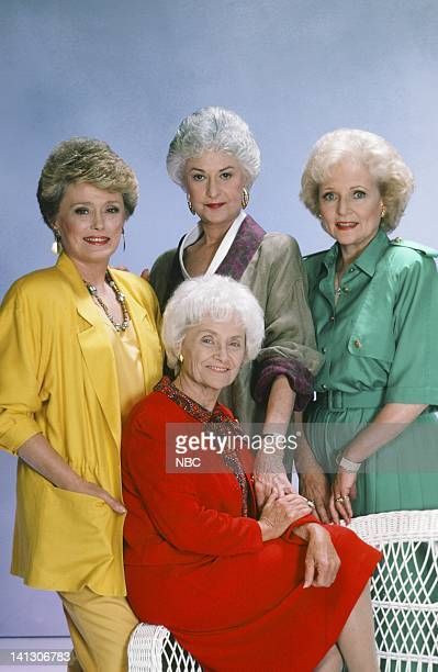 Rue McClanahan as Blanche Devereaux Estelle Getty as Sophia Petrillo Bea Arthur as Dorothy Petrillo Zbornak Betty White as Rose Nylund Photo by Gary...