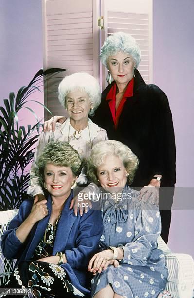 Rue McClanahan as Blanche Devereaux Estelle Getty as Sophia Petrillo Betty White as Rose Nylund Bea Arthur as Dorothy Petrillo Zbornak Photo by Gary...