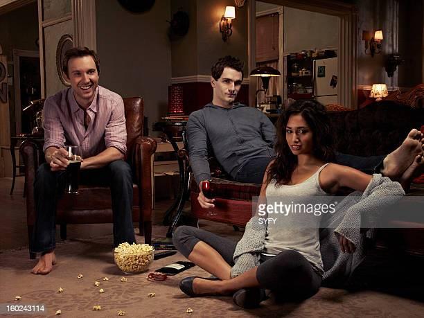 Sam Huntington as Josh Sam Witwer as Aiden Meaghan Rath as Sally Malik