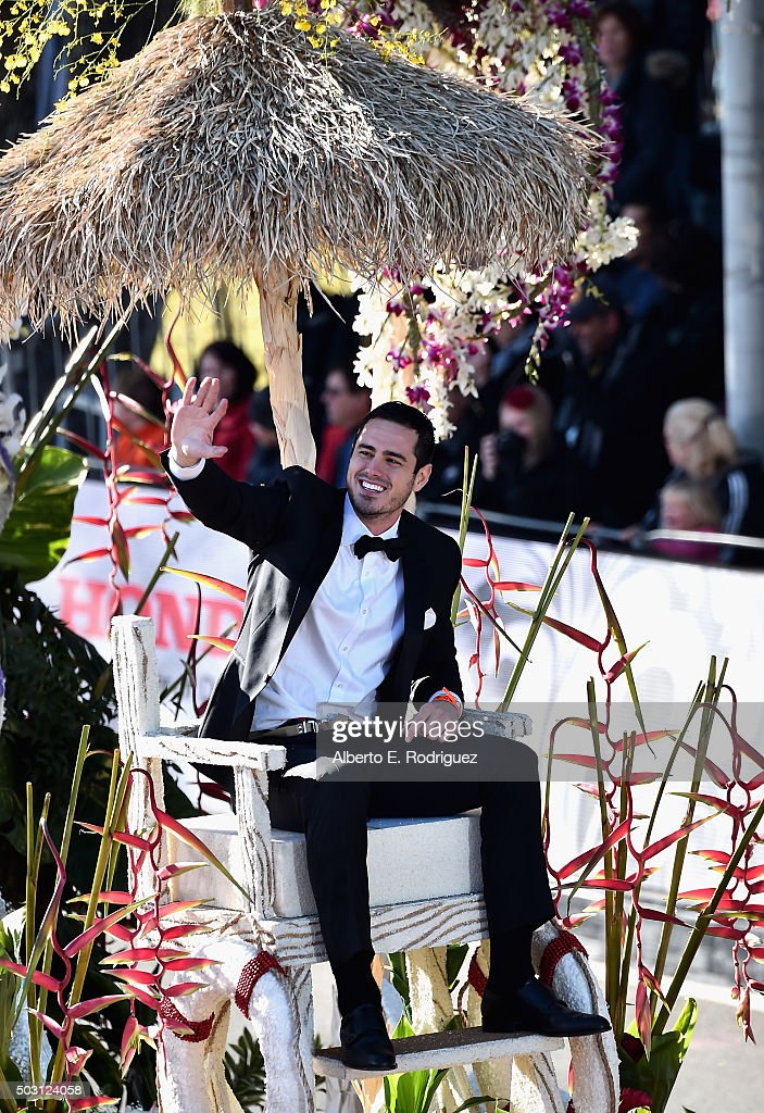 Season 20 Bachelor Ben Higgins participates in the 127th Tournament of Roses Parade presented by Honda on January 1, 2016 in Pasadena, California.