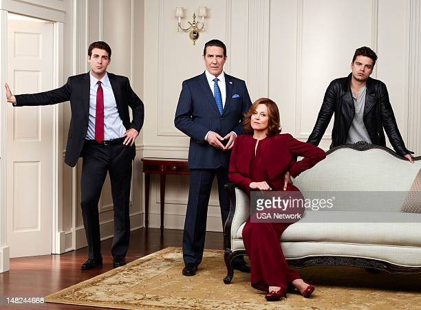 2012 Pictured James Wolk as Doug Hammond Ciaran Hinds as Bud Hammond Sigourney Weaver as Elaine Barrish Sebastian Stan as TJ Hammond