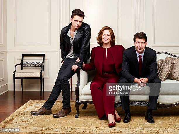 2012 Pictured Sebastian Stan as TJ Hammond Sigourney Weaver as Elaine Barrish James Wolk as Doug Hammond