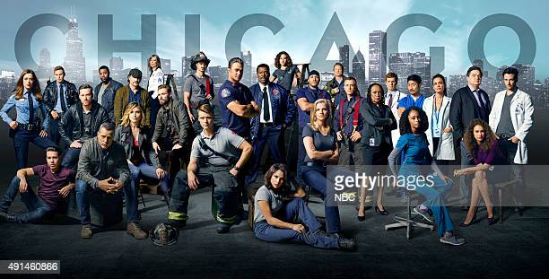 2015 Pictured Chicago PD top row Marina Squerciati as Officer Kim Burgess Brian Geraghty as Officer Sean Roman Jesse Lee Soffer as Detective Jay...