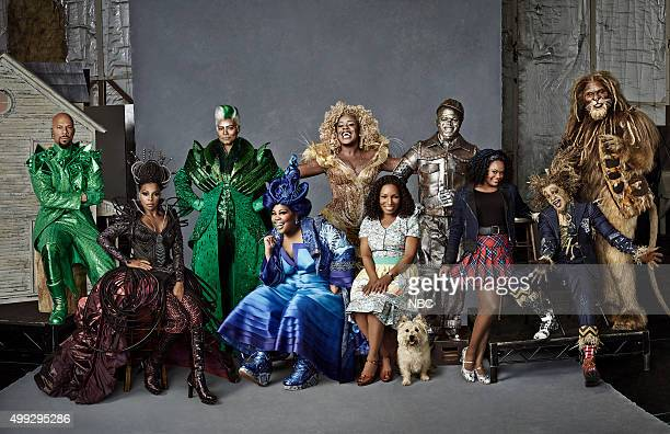 2015 Pictured Common as The Bouncer Mary J Blige as Evillene Queen Latifah as The Wiz Amber Riley as Addapearle Uzo Aduba as Glinda Stephanie Mills...