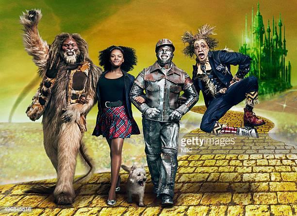 2015 Pictured David Alan Grier as Lion Shanice Williams as Dorothy NeYo as Tinman Elijah Kelley as Scarecrow