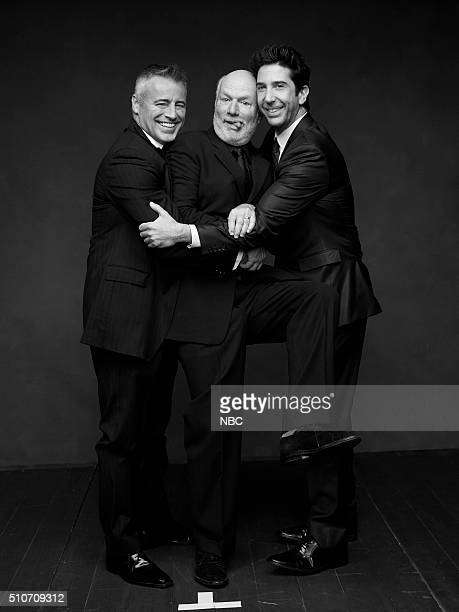 2016 Pictured Matt LeBlanc James Burrows David Schwimmer