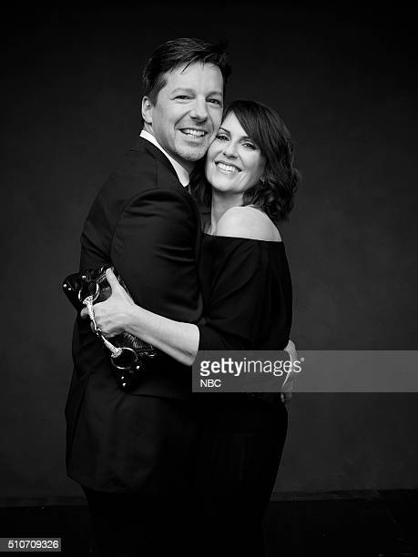 2016 Pictured Sean Hayes Megan Mullally