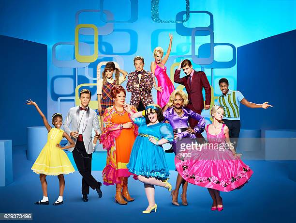 2016 Pictured top row Ariana Grande as Penny Pingleton Martin Short as Wilbur Turnblad Kristin Chenoweth as Velma Von Tussle Garrett Clayton as Link...