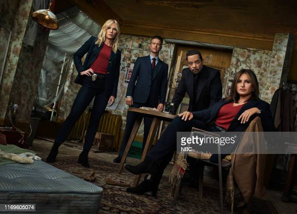 21 Pictured Kelli Giddish as Detective Amanda Rollins Peter Scanavino as Detective Sonny Carisi Ice T as Detective Odafin Fin Tutuola Mariska...