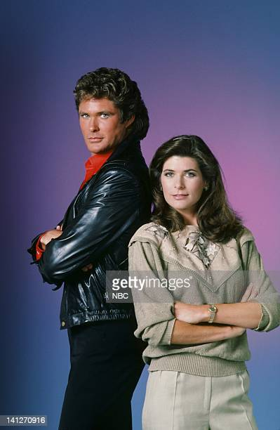 David Hasselhoff as Michael Knight Patricia McPherson as Bonnie Barstow Photo by Gary Null/NBCU Photo Bank