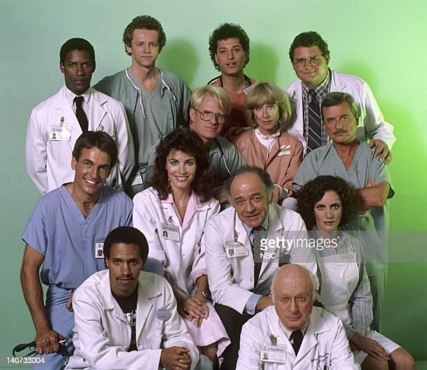 Season 3 -- Pictured: Denzel Washington as Doctor Philip Chandler, David Morse as Doctor Jack Morrison, Howie Mandel as Doctor Wayne Fiscus, Stephen...