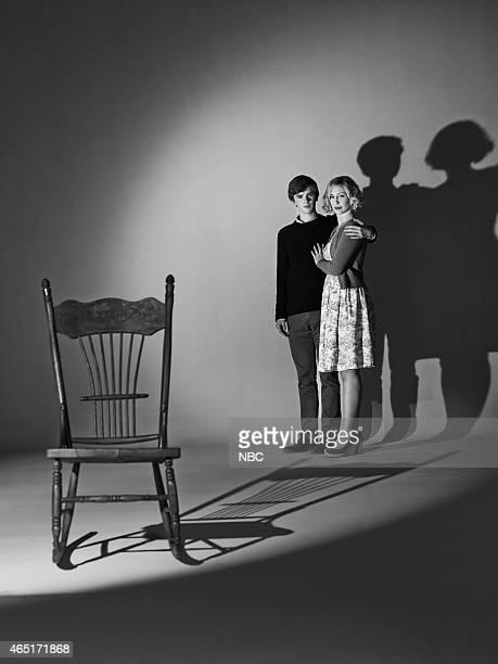 3 Pictured Freddie Highmore as Norman Bates Vera Farmiga as Norma Bates