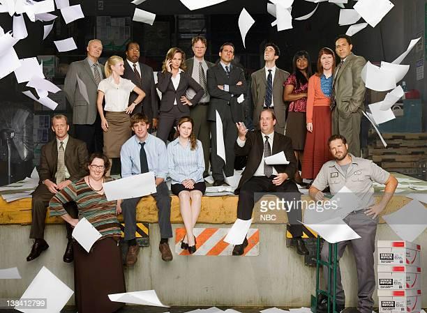Front Row Paul Lieberstein as Toby Flenderson Phyllis Smith as Phyllis Lapin John Krasinski as Jim Halpert Jenna Fischer as Pam Beesly Brian...