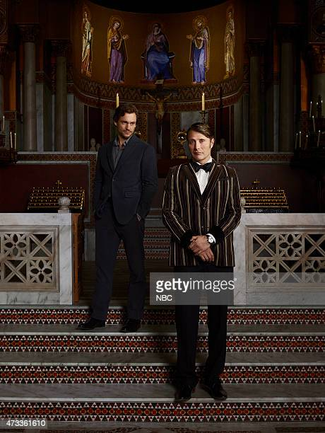 3 Pictured Hugh Dancy as Will Graham Mads Mikkelsen as Hannibal Lecter