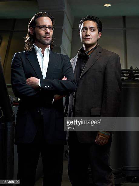 James Callis as Dr Gaius Baltar Alessandro Juliani as as Lt Felix Gaeta