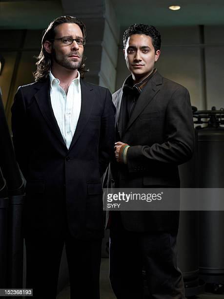 James Callis as Dr Gaius Baltar Alessandro Juliani as as Lt Felix Gaeta