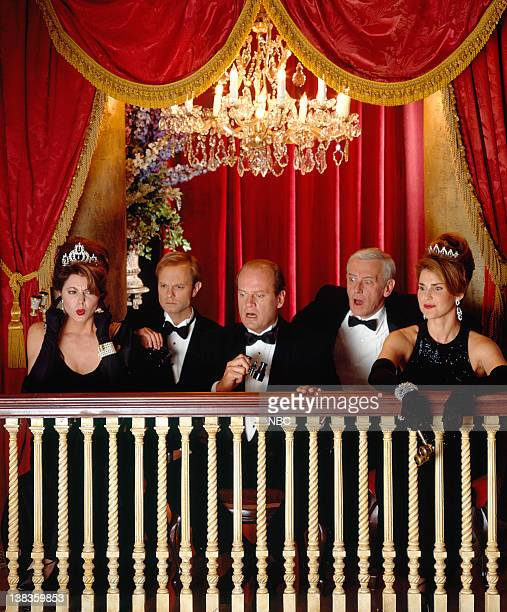 Jane Leeves as Daphne Moon David Hyde Pierce as Dr Niles Crane Kelsey Grammer as Dr Frasier Crane John Mahoney as Martin Crane Peri Gilpin as Roz...