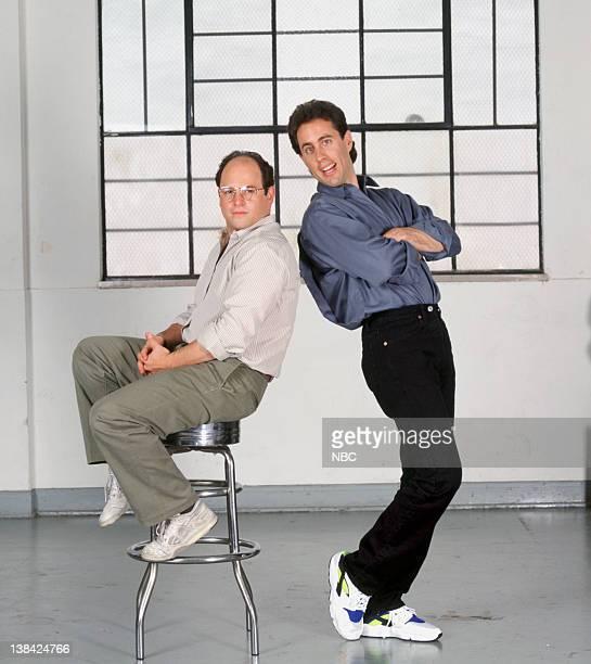Jason Alexander as George Costanza Jerry Seinfeld as Jerry Seinfeld