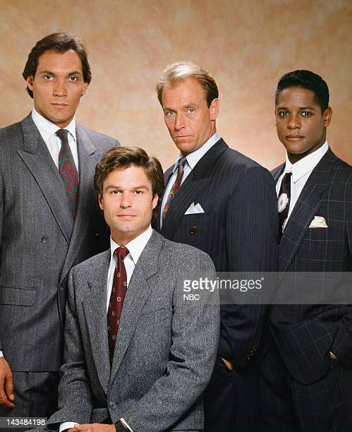 Jimmy Smits as Victor Sifuentes Harry Hamlin as Michael Kuzak Corbin Bernsen as Arnie Becker Blair Underwood as Jonathan Rollins