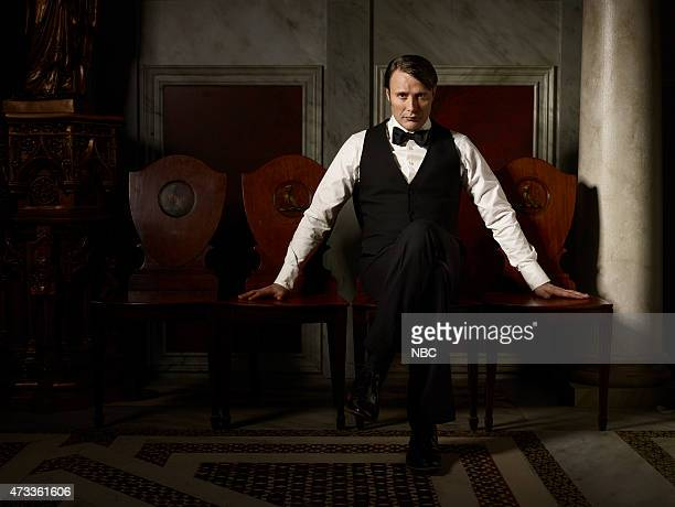 3 Pictured Mads Mikkelsen as Hannibal Lecter